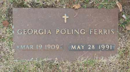 FERRIS, GEORGIA POLING - Washington County, Oklahoma | GEORGIA POLING FERRIS - Oklahoma Gravestone Photos