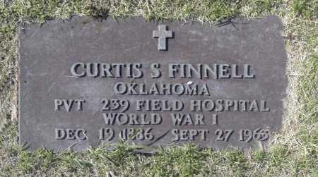 FINNELL, CURTIS S - Washington County, Oklahoma   CURTIS S FINNELL - Oklahoma Gravestone Photos