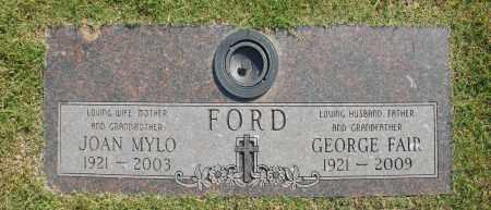 FORD, GEORGE FAIR - Washington County, Oklahoma   GEORGE FAIR FORD - Oklahoma Gravestone Photos