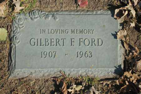 FORD, GILBERT F - Washington County, Oklahoma | GILBERT F FORD - Oklahoma Gravestone Photos