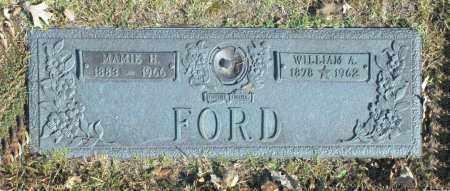 FORD, WILLIAM A - Washington County, Oklahoma | WILLIAM A FORD - Oklahoma Gravestone Photos