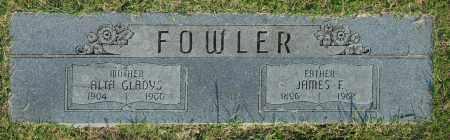 FOWLER, ALTA GLADYS - Washington County, Oklahoma | ALTA GLADYS FOWLER - Oklahoma Gravestone Photos