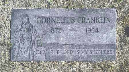 FRANKLIN, CORNELIUS - Washington County, Oklahoma   CORNELIUS FRANKLIN - Oklahoma Gravestone Photos