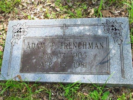 FRENCHMAN, ADAM - Washington County, Oklahoma | ADAM FRENCHMAN - Oklahoma Gravestone Photos