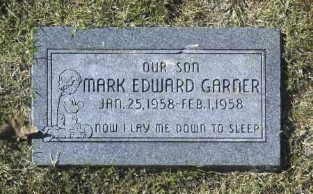 GARNER, MARK EDWARD - Washington County, Oklahoma   MARK EDWARD GARNER - Oklahoma Gravestone Photos