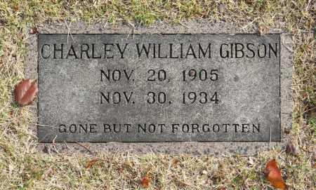 GIBSON, CHARLEY WILLIAM - Washington County, Oklahoma   CHARLEY WILLIAM GIBSON - Oklahoma Gravestone Photos