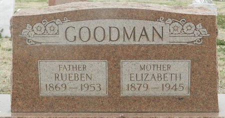 RAINWATER GOODMAN, ELIZABETH LIZETTA - Washington County, Oklahoma | ELIZABETH LIZETTA RAINWATER GOODMAN - Oklahoma Gravestone Photos