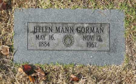 GORMAN, HELEN MANN - Washington County, Oklahoma   HELEN MANN GORMAN - Oklahoma Gravestone Photos