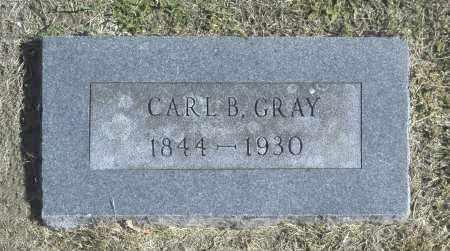 GRAY, CARL B - Washington County, Oklahoma | CARL B GRAY - Oklahoma Gravestone Photos