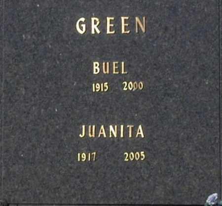 GREEN, JUANITA - Washington County, Oklahoma | JUANITA GREEN - Oklahoma Gravestone Photos