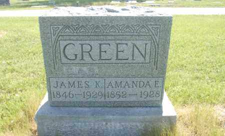 GREEN, JAMES K. - Washington County, Oklahoma | JAMES K. GREEN - Oklahoma Gravestone Photos