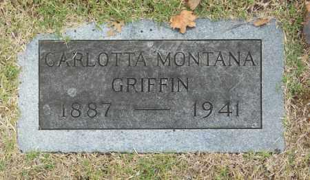 GRIFFIN, CARLOTTA MONTANA - Washington County, Oklahoma   CARLOTTA MONTANA GRIFFIN - Oklahoma Gravestone Photos