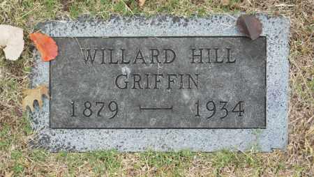 GRIFFIN, WILLARD HILL - Washington County, Oklahoma | WILLARD HILL GRIFFIN - Oklahoma Gravestone Photos