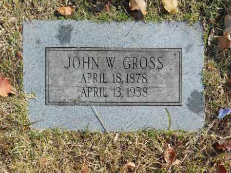 GROSS, JOHN W - Washington County, Oklahoma | JOHN W GROSS - Oklahoma Gravestone Photos