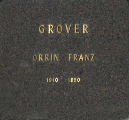 GROVER, ORRIN FRANZ - Washington County, Oklahoma   ORRIN FRANZ GROVER - Oklahoma Gravestone Photos