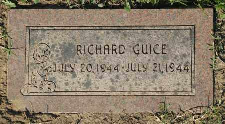 GUICE, RICHARD - Washington County, Oklahoma   RICHARD GUICE - Oklahoma Gravestone Photos