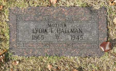 HALLMAN, LYDIA L - Washington County, Oklahoma | LYDIA L HALLMAN - Oklahoma Gravestone Photos