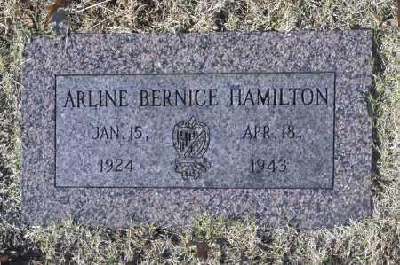 HAMILTON, ARLINE BERNICE - Washington County, Oklahoma | ARLINE BERNICE HAMILTON - Oklahoma Gravestone Photos