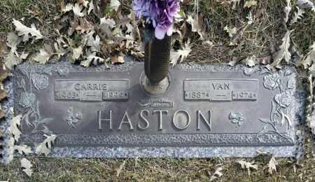 HASTON, CARRIE - Washington County, Oklahoma | CARRIE HASTON - Oklahoma Gravestone Photos