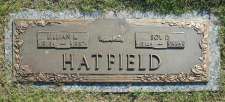 HATFIELD, LILLIAN L. - Washington County, Oklahoma | LILLIAN L. HATFIELD - Oklahoma Gravestone Photos