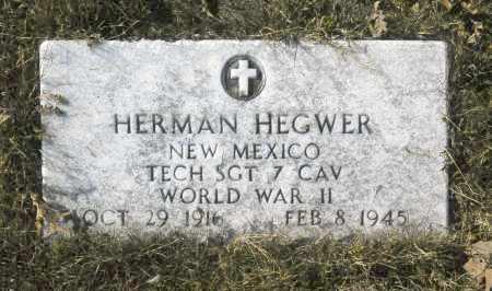 HEGWER, HERMAN - Washington County, Oklahoma   HERMAN HEGWER - Oklahoma Gravestone Photos