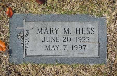 HESS, MARY M - Washington County, Oklahoma | MARY M HESS - Oklahoma Gravestone Photos