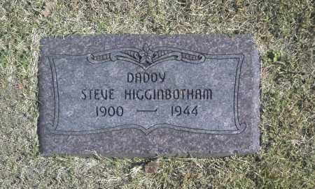 HIGGINBOTHAM, STEVE - Washington County, Oklahoma | STEVE HIGGINBOTHAM - Oklahoma Gravestone Photos