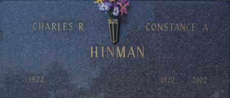 HINMAN, CONSTANCE A - Washington County, Oklahoma | CONSTANCE A HINMAN - Oklahoma Gravestone Photos