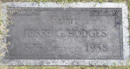 HODGES, JESSE G. - Washington County, Oklahoma | JESSE G. HODGES - Oklahoma Gravestone Photos