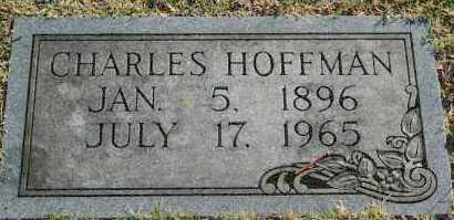 HOFFMAN, CHARLES - Washington County, Oklahoma | CHARLES HOFFMAN - Oklahoma Gravestone Photos