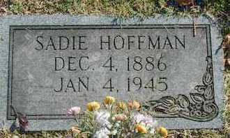 MCCLURE HOFFMAN, SADIE - Washington County, Oklahoma | SADIE MCCLURE HOFFMAN - Oklahoma Gravestone Photos