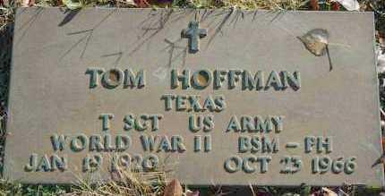 HOFFMAN, TOM - Washington County, Oklahoma | TOM HOFFMAN - Oklahoma Gravestone Photos