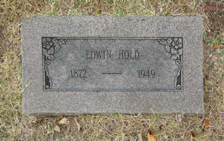 HOLD, EDWIN - Washington County, Oklahoma | EDWIN HOLD - Oklahoma Gravestone Photos