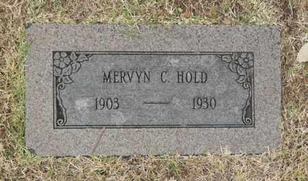 HOLD, MERVYN C - Washington County, Oklahoma   MERVYN C HOLD - Oklahoma Gravestone Photos