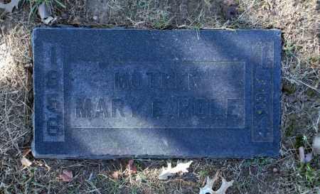 HOLE, MARY E - Washington County, Oklahoma | MARY E HOLE - Oklahoma Gravestone Photos