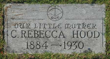 HOOD, C. REBECCA - Washington County, Oklahoma | C. REBECCA HOOD - Oklahoma Gravestone Photos