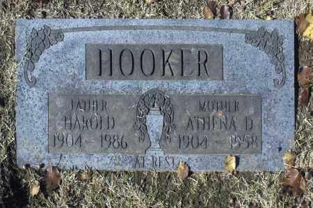 HOOKER, HAROLD - Washington County, Oklahoma   HAROLD HOOKER - Oklahoma Gravestone Photos