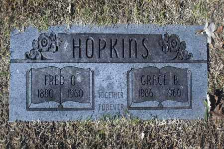 HOPKINS, FRED O - Washington County, Oklahoma | FRED O HOPKINS - Oklahoma Gravestone Photos