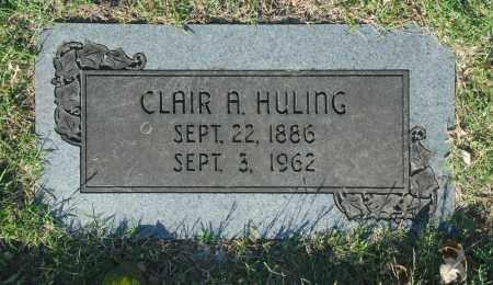 HULING, CLAIR A. - Washington County, Oklahoma   CLAIR A. HULING - Oklahoma Gravestone Photos