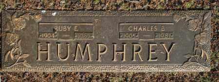 HUMPHREY, CHARLES B. - Washington County, Oklahoma | CHARLES B. HUMPHREY - Oklahoma Gravestone Photos