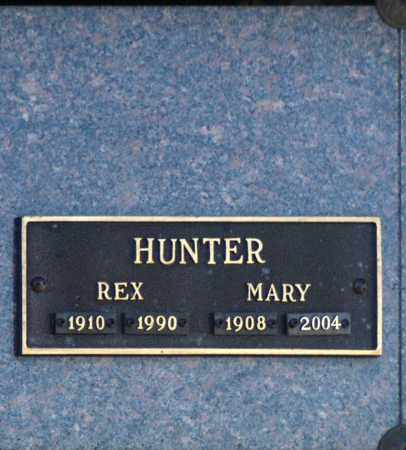 HUNTER, REX - Washington County, Oklahoma   REX HUNTER - Oklahoma Gravestone Photos