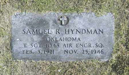 HYNDMAN, SAMUEL R - Washington County, Oklahoma   SAMUEL R HYNDMAN - Oklahoma Gravestone Photos