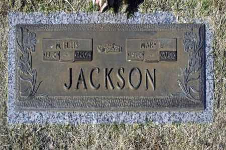 JACKSON, M ELLIS - Washington County, Oklahoma | M ELLIS JACKSON - Oklahoma Gravestone Photos