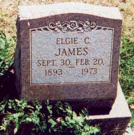 JAMES, ELGIE C. - Washington County, Oklahoma | ELGIE C. JAMES - Oklahoma Gravestone Photos