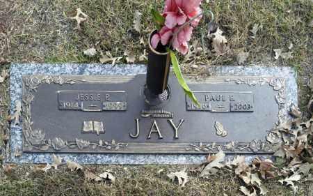 JAY, JESSIE P - Washington County, Oklahoma | JESSIE P JAY - Oklahoma Gravestone Photos