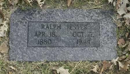 JESTER, RALPH - Washington County, Oklahoma   RALPH JESTER - Oklahoma Gravestone Photos