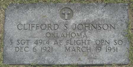 JOHNSON, CLIFFORD S. - Washington County, Oklahoma | CLIFFORD S. JOHNSON - Oklahoma Gravestone Photos