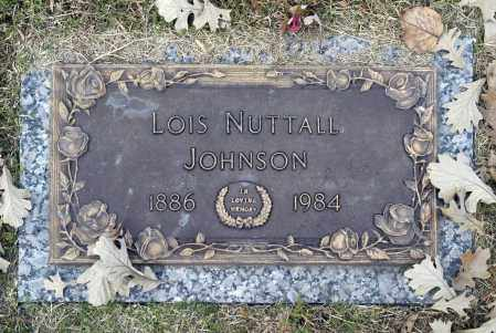 JOHNSON, LOIS NUTTALL - Washington County, Oklahoma   LOIS NUTTALL JOHNSON - Oklahoma Gravestone Photos