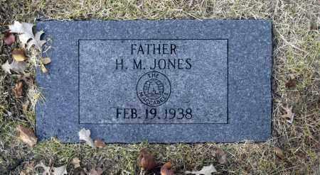 JONES, H M - Washington County, Oklahoma   H M JONES - Oklahoma Gravestone Photos