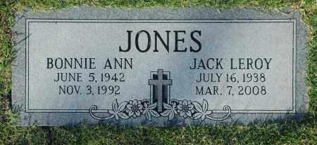 JONES, JACK LEROY - Washington County, Oklahoma   JACK LEROY JONES - Oklahoma Gravestone Photos